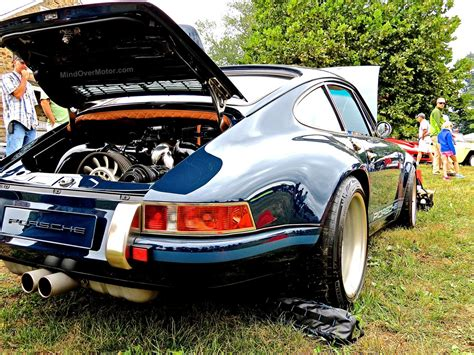 porsche singer blue singer porsche 911 at the radnor hunt concours mind
