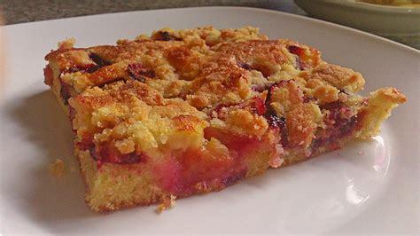 eierlikör kuchen zwetschken eierlik 246 r kuchen rezept mit bild