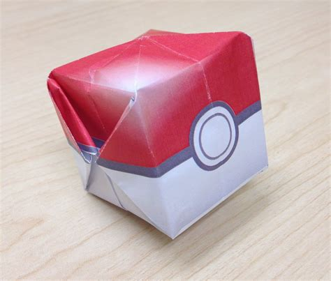 How To Make Paper Pokeball - origami templates images images