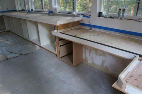 Forming Concrete Countertops concrete countertop forms images