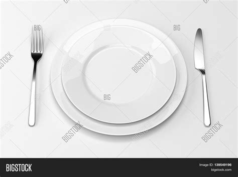 Bitter Of One Your Table Is Ready by Fork Knife Plates Serving Table Image Photo Bigstock