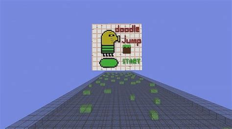 doodle jump in minecraft doodle jump minecraft 1 8 minecraft project