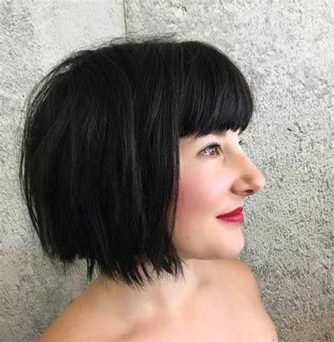 Black Hairstyles Bob With Bangs by 30 Bob Hairstyles With Bangs Bob Hairstyles