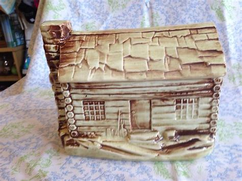 Mccoy Log Cabin Cookie Jar by Mccoy Pottery Collectibles Price Guide