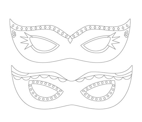 printable mardi gras mask template printable mardi gras mask craftbnb