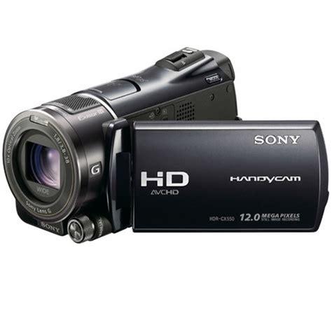 Memory Handycam sony hdrcx550v handycam camcorder 64gb avchd flash memory black consumer camcorders vistek