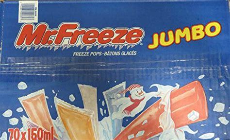 freeze jumbo ice pops  mililiters ounces