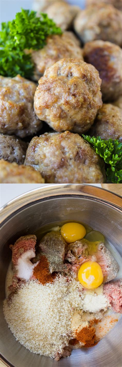 Easy Baked Meatballs The Food Charlatan