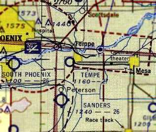 arizona sectional chart abandoned little known airfields arizona southeastern