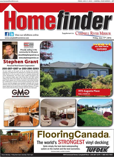 real estate guide homefinder june 17 2016 by black