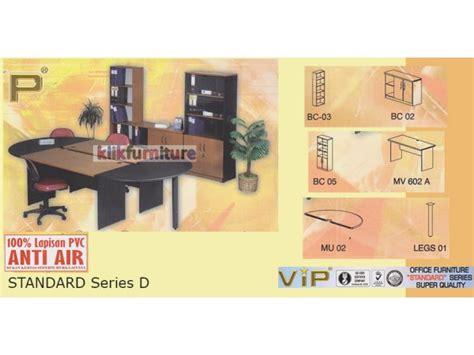 Meja Persegi Shinpo set meja kantor standard series d vip anti air kualitas