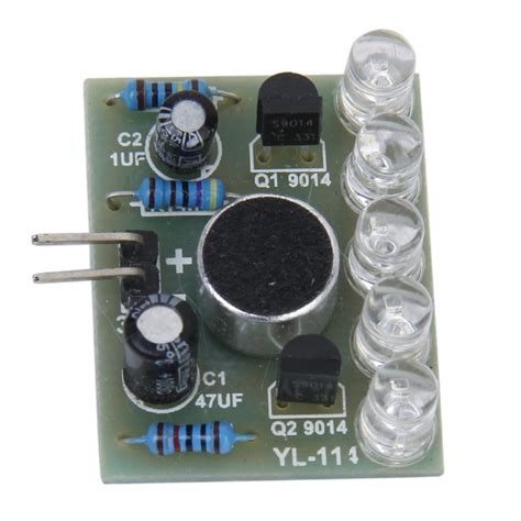 3 5 5v Sound Activated Led Melody Light L Module Sound Activated Lights