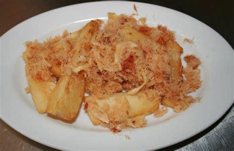 telo bakkeljauw masakan khas  suriname chez space
