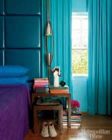 Jewel Tone Home Decor by Jewel Tones In The Bedroom Turquoise Headboard Amp Drapes