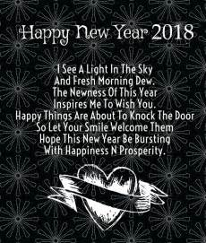 50 best happy new year 2018 facebook statuses captions