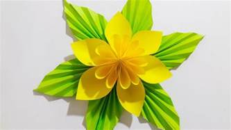 Paper Craft Flower Ideas - origami flower easy paper flower 2017 easy step paper