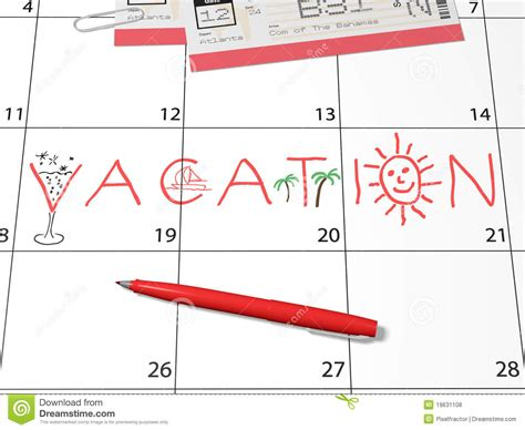 download holiday calendars to enhance your vacation vacation calendar reminder royalty free stock photos