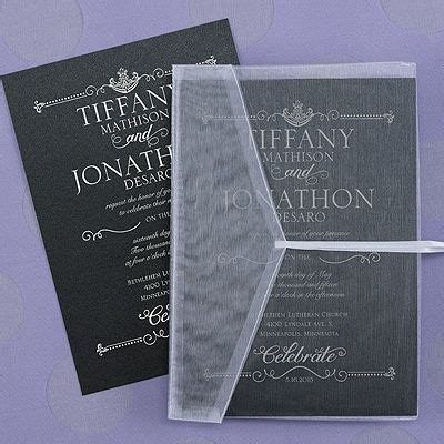 17 Best images about Black Wedding Invitations on