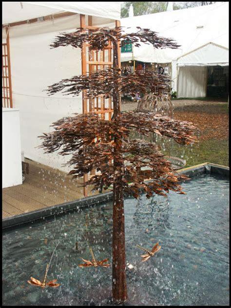bonsai tree copper water feature