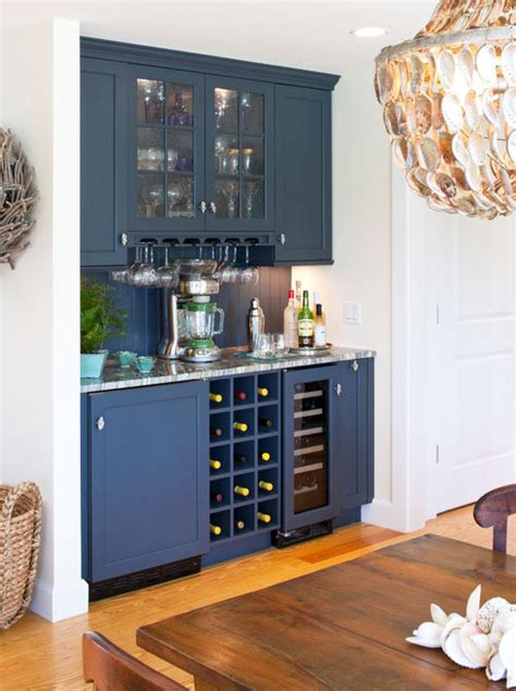 Bar Pantry by Blue Butlers Pantry Stocked As Nautical