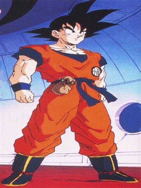 imagenes de goku adolescente lista todos los trajes que utilizo goku en dragon ball z gt