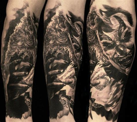 best 3d tattoo artist artist carl l fqvist joker best tattoos