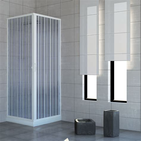 Plastic Shower Door Shower Enclosure Walk In Quadrant Cubicle Plastic Pvc