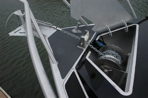 boat drum winch installation installation savwinch boat anchor winch specialists