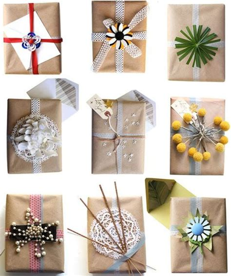 pretty gift wrapping ideas kraft paper wrapping ideas pretty packaging gift wrap