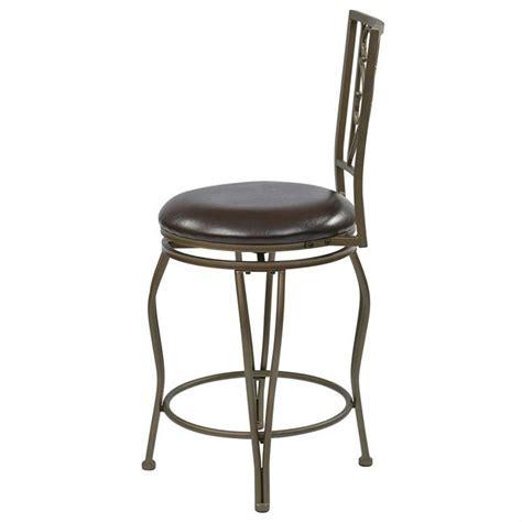 30 quot metal swivel bar stool in espresso csm2530 es 24 25 quot metal swivel counter stool in espresso csm2724 es
