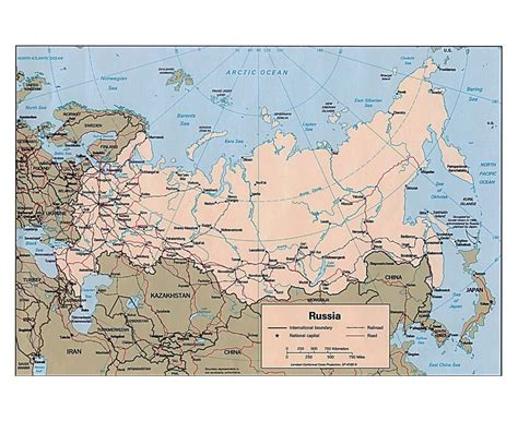russia map with major cities maps of russia detailed map of russia in and