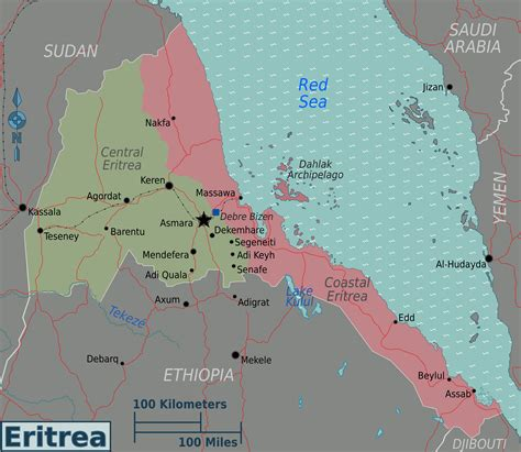 eritrea map maps of eritrea map library maps of the world
