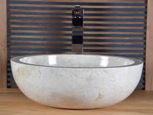 vente vasque salle de bain en marbre beige ibiza walk