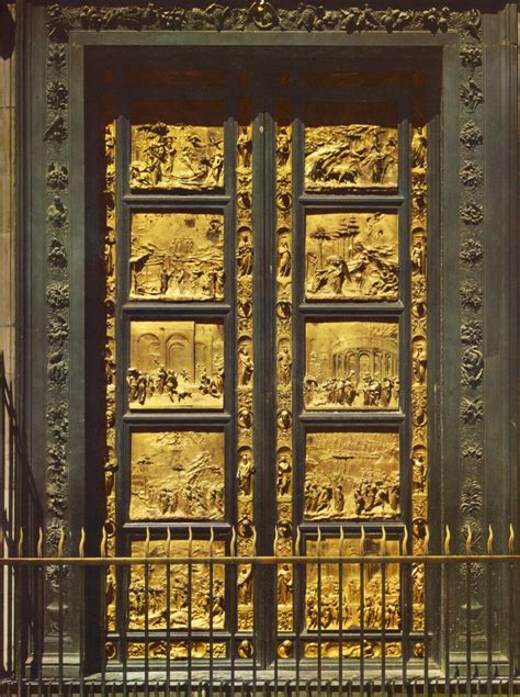 Ghiberti Doors by And Salvation Ii The Early Renaissance
