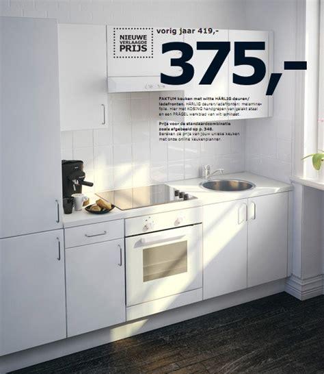 ikea keukens promoties ikea promotie faktum keuken met witte h 228 rlig deuren