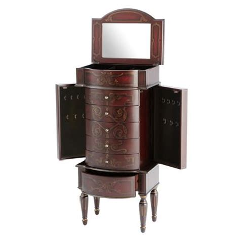 bombay armoire rouge jewelry armoire from the bombay company my virtual