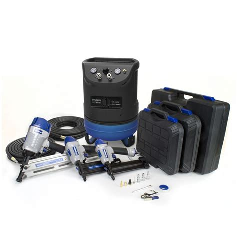hyundai 4 gal portable electric air compressor with 6