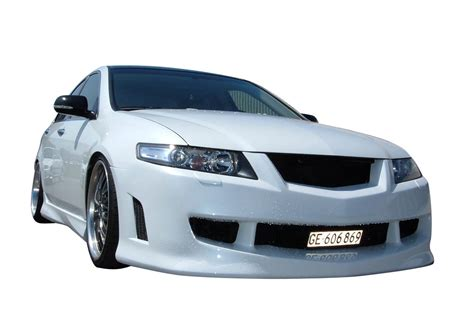 2004 2005 acura tsx 4dr techno r front bumper vis racing