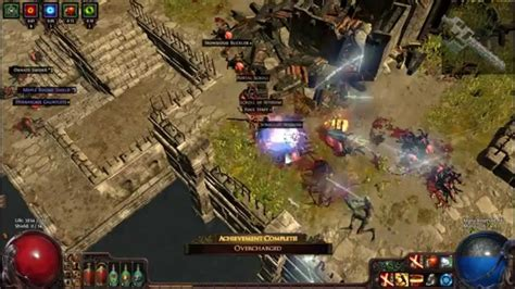 path of exile overcharged achievement guide
