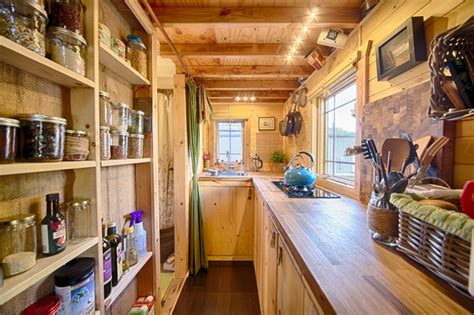 tiny home with a big kitchen our tiny tack house rustic kitchen seattle by the