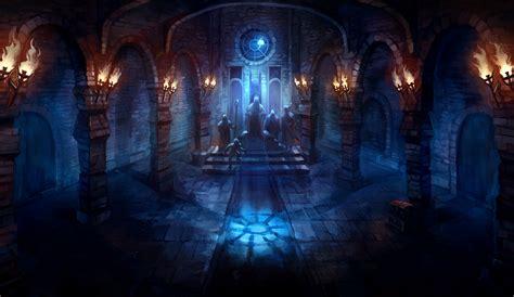 fantasy underground film room the throne room by znodden on deviantart
