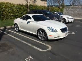 ca 2003 lexus sc430 pearl white 20 quot wheels extras club