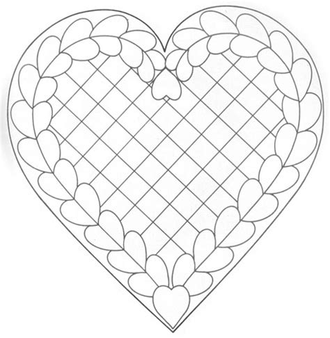 pattern design heart not too early to think of making valentines marges8 s blog