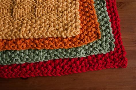 knitted placemats knit sler placemats kitchens ideas