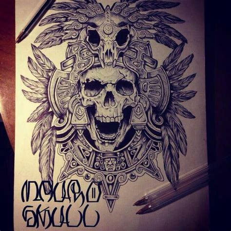 latino art tattoo designs azteca estilo mexicano aztec piercings