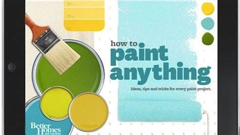 better homes and gardens launches paint anything app