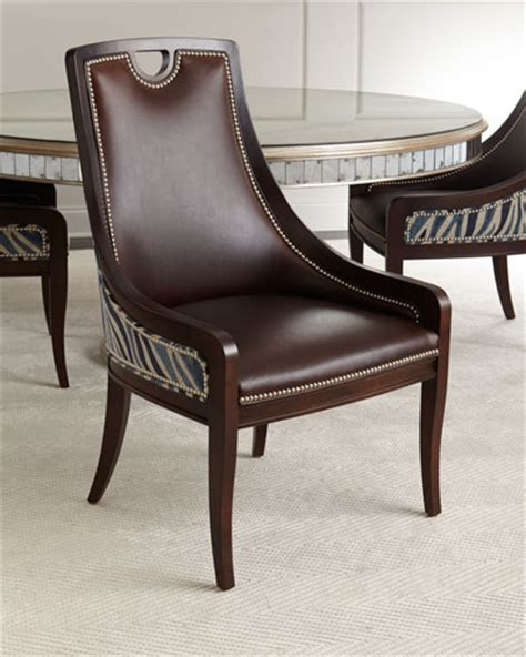 Horchow Dining Chairs Dining Chairs Leather Acrylic Dining Chairs At Neiman Horchow
