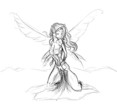 fairy sketch by alex321432 on deviantart