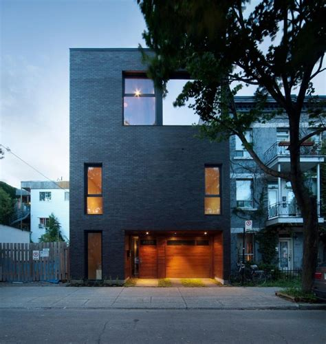 modern brick homes siamoises mentana boyer modern architecture