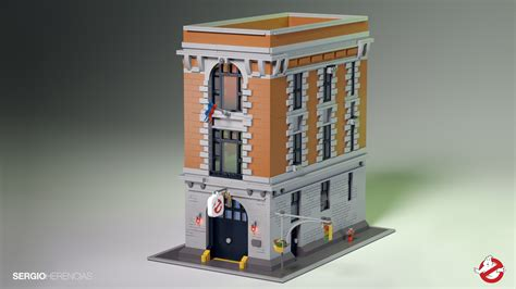 Lego Ghostbusters House by Lego Ideas Ghostbusters Hq